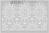 Artdeco Stencil A4 21x29cm Dantel 1 St206