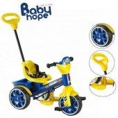 Babyhope 120 Bobo Üçteker Ebeveyn Kontrollü Bisiklet Sarı