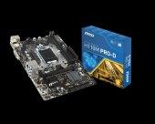 Msı Intel H110 1151 Ddr4 2133mhz Dvı Anakart H110mprod