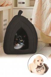 Pet Hut Polar Kedi Ve Köpek Yatağı Siyah