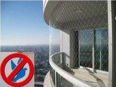 Kuş Önleme Filesi 2,5x1 Metre Kuş Ağı Balkon Filesi Balkon Ağı Güvercin Filesi Güvercin Önleme Filesi