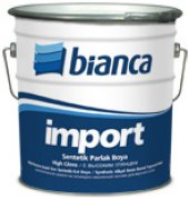 Bianca İmport Sentetik Son Kat Lüx Boya 1 Kg