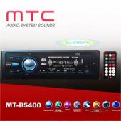 Mtc Mt B5400 Bluetoothlu Usb Sd Mp3 Wma Am Fm Mpx