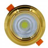 5 Watt Cob Led Spot Armatür Gold Kasa Driverli