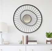 Circular Dresuar Ayna