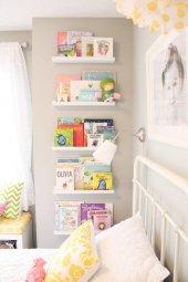 Ceebebek Ahşap Duvar Raf Bebek Çocuk Odası Montessori Beyaz Kitaplık 5byzl40 Ücretsiz Kargo