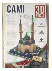 Piramigo 3d Puzzle Ahşap Camii Maketi