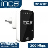 ınca Iap 323rp 300 Mbps 2.4 Ghz Wireless N Router Repeater