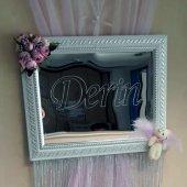 Dekoratif Aynalı Pleksi Çocuk Odası Kapısüsü (Lazer Kesim & Kazıma) Hastane Odası Kapı Süsü