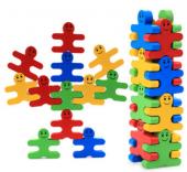 Piramigo Ahşap Denge Blokları Dikkat Oyunu