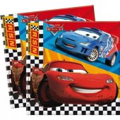 Cars Kağıt Peçete 20 Adet