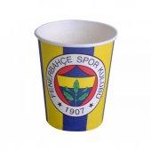 Fenerbahçe Karton Bardak 8 Adet