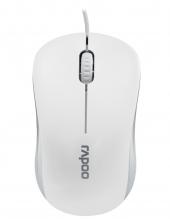 Rapoo N1130 Kablolu Optık Mouse Beyaz