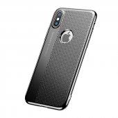 Baseus İphone X Delikli İnce Sert Kapak Kılıf
