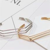 Geometrik Design Harika Bileklik Gümüş Renk 30 Tl Üzeri Ücretsiz