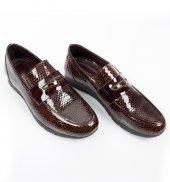 Deepsea Poli Taban Petek Desenli Rugan Deri Erkek Ayakkabı 1701017