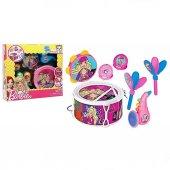 Barbie Oyuncak Davul Seti Müzik Seti