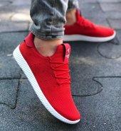 Keeway 011 Kırmızı Renk Günlük Ayakkabı