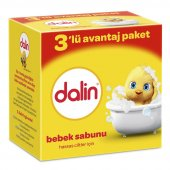Dalin Sabun Klasik 3lü 100 Gr