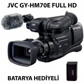 Jvc Gy Hm70e Hd Video Kamera Batarya Hediyeli