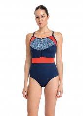 Dagi Kadın İnce Askılı Fermuarlı Yüzücü Mayo Lacivert B0118y0016lc