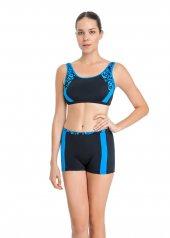 Dagi Kadın Şortlu Yüzücü Bikini Takımı Mavi B0118y0033mv