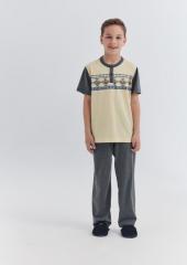 Dagi Çocuk Pijama Takımı Sarı C0217y0010sr