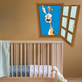 Dekorloft Çocuk Odası Pencere Sticker Pnc 807