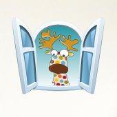 Dekorloft Çocuk Odası Pencere Sticker Pnc 815