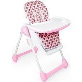 Dolu Lüx Mama Sandalyesi Pembe
