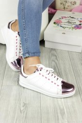 Pembe Ayna Dilli Bayan Günlük Ayakkabı