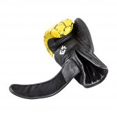 G4f Kıck Boxıng Gloves Leather Yellow Earth (Gf010)