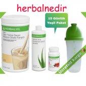Herbalife 15 Günlük Yeşil Paket Kilo Kontrol Amaçlı