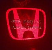 Honda Bagaj Arkası Dış Yan Ayna Altı Cree Kırmızı Led Logo