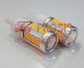 T20 7440 5w Led Ampul Tek Duy 500lumen Amber Turuncu
