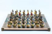 Satranç Takımı, Bakır Sehpa