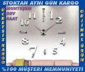 3d Büyük Duvar Saati 015 B Ofis Ev Dekorasyon