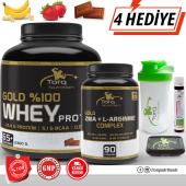 Torq Nutrition Gold Whey Protein 2300 Gr + Zma L Arginine Complex 90 Kapsül