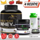 Torq Nutrition Gold Whey Protein Tozu 2300 Gr + Argıtorq L Arginine Powder 300 Gr