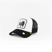 Goorin Bros Animal Farm Trucker Special List Bull White Black
