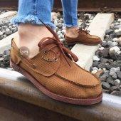 Knack Erkek Günlük Keten Ayakkabı Taba