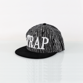 Trap Çizgili Full Cap Unisex Şapka