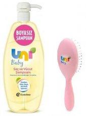Uni Baby Boyasız Saç Ve Vücut Şampuanı Tarak Hediyeli