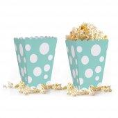 10 Adet Puantiyeli (Popcorn) Mısır Kutusu