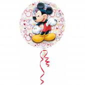 1 Adet Kikajoy Mickey Mouse Yuvarlak Folyo Balon 55 Cm