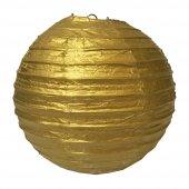 Kikajoy Altın Dekor Fener 30 Cm