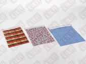 100 Adet Kika Metalize Poşet 15*25 Cm