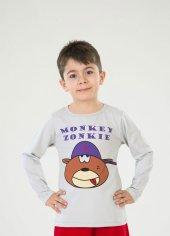 Monkey Uzun Kollu T Shirt
