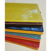 Keskin Victorias Renkli Deri 56 Yaprak Çizgili 9 X 14 Defter