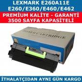 Lexmark E260 E260a11e Muadil Toner E360 E460 E462 3.500 Sayfa